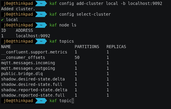 Modern CLI for Apache Kafka written in Go