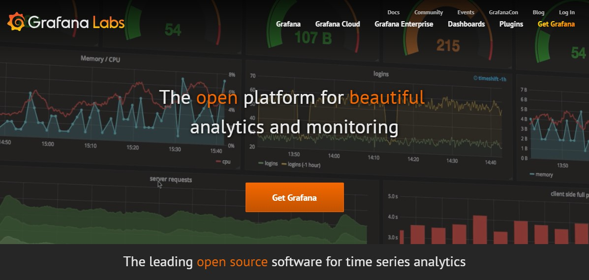 A feature rich metrics dashboard and graph editor for Graphite