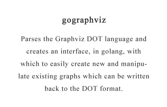 Parses the Graphviz DOT language in golang